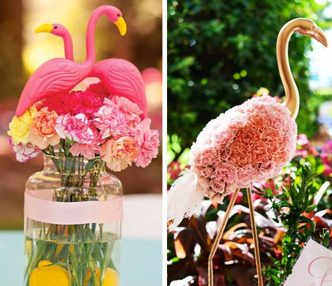 15 Flamingo Themed Wedding Day Ideas