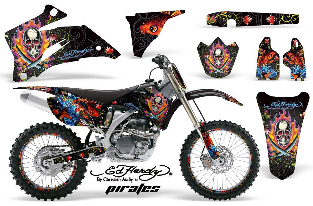 Huntington ink dirt bike motocross sticker kit yamaha mx graphics for f