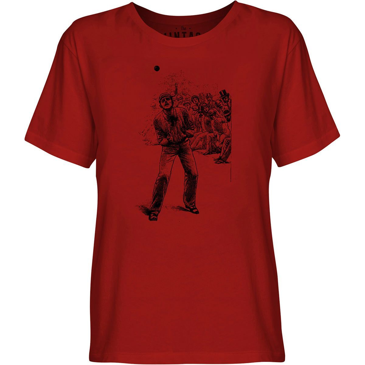 Mintage Cricket Catch Youth Fine Jersey T-Shirt