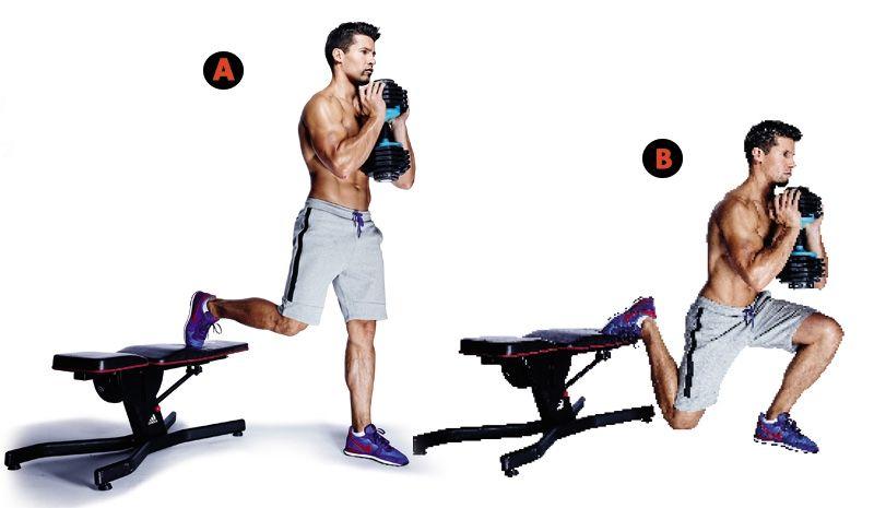 Pesas perdida de peso series y repeticiones en el gym