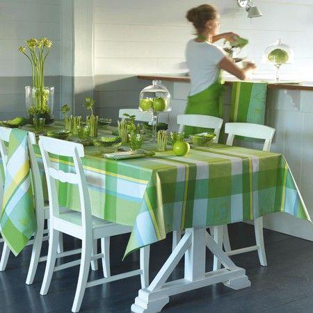 secrets de cuisine coated tablecloth by le jacquard francais at table linen. Black Bedroom Furniture Sets. Home Design Ideas
