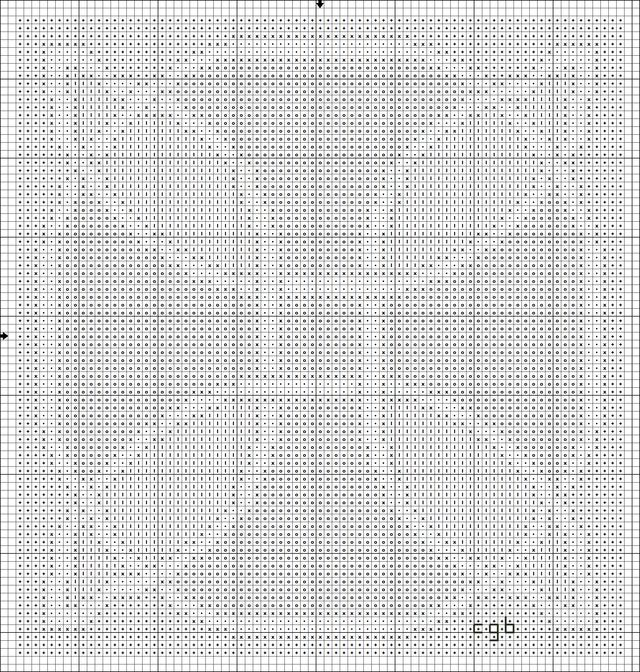 Free Celtic Knot Two Cross Stitch Patterns: Free Multi-Color Celtic ...