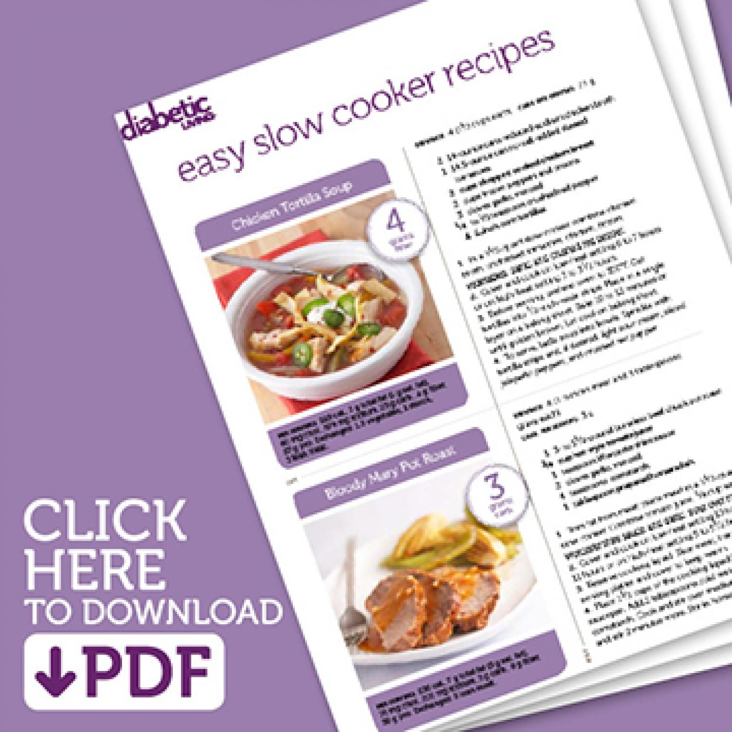 Easy Slow Cooker Recipe Cards