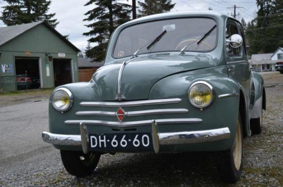 1954 Renault 4cv Renault 4 Renault European Cars