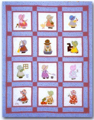 Sunbonnet Sue Block of the Month Club - Grandmas Attic Sewing ... : sunbonnet sue quilt club - Adamdwight.com