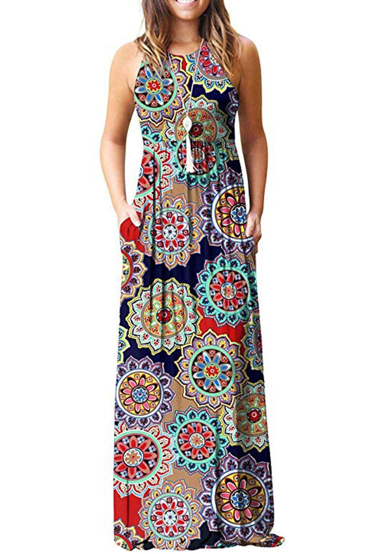 Dolpind Womens Sleeveless Dresses Pockets Maxi Dress Long Dress Casual Casual Dresses [ 1800 x 1200 Pixel ]