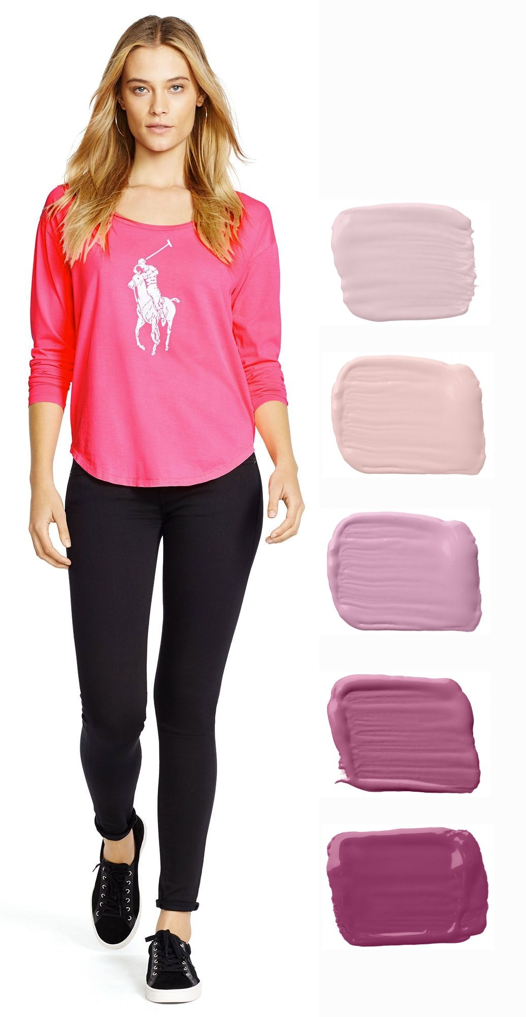 From Racer Pink to Society Pink, Ralph Lauren Paint celebrates Pink ...