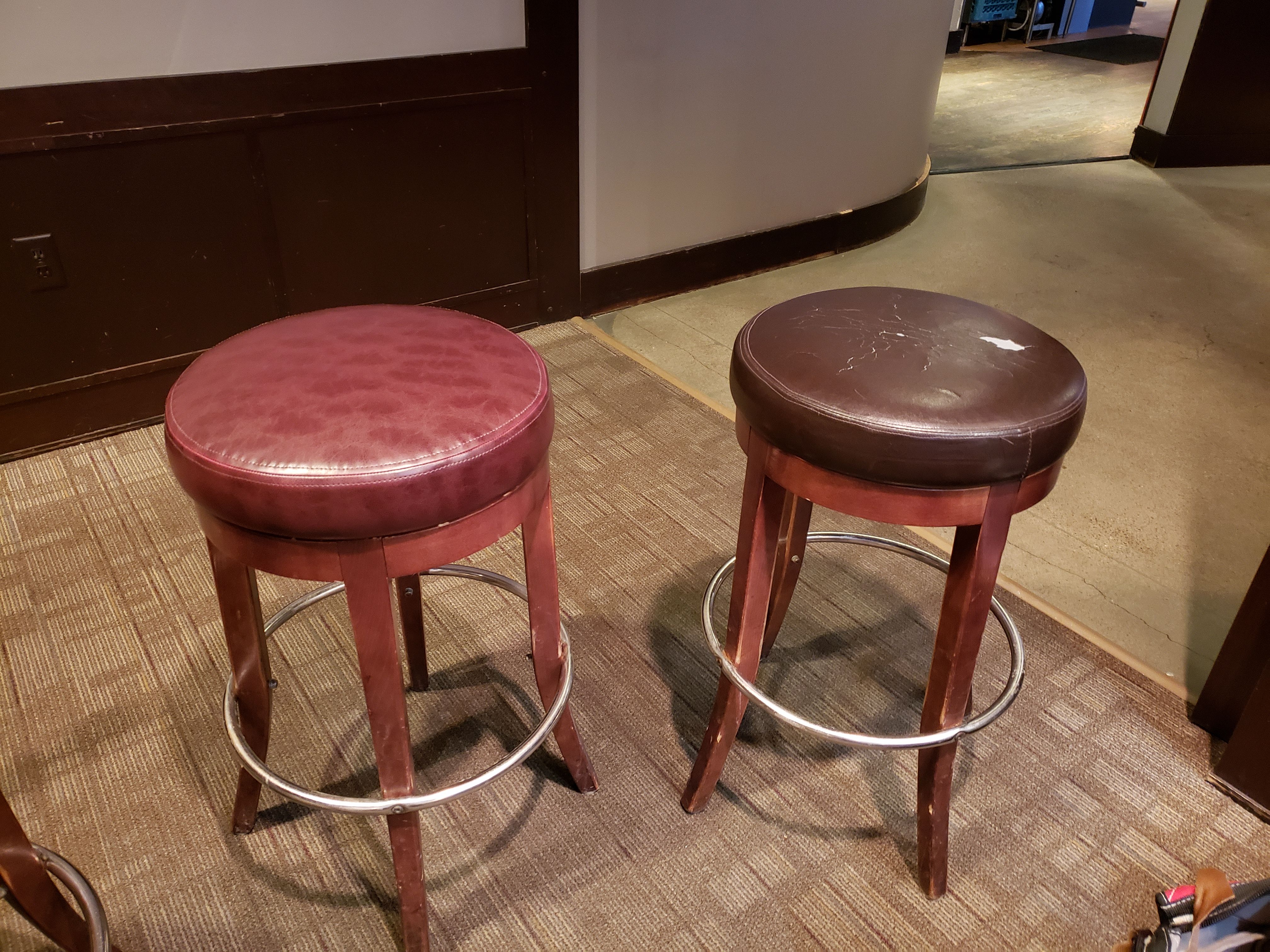 Barstools Reupholster Bar Stools Upholstery Decor