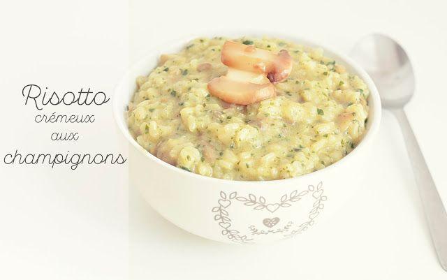 Risotto coriandre et champignons (vegan) | In Vegan Veritas