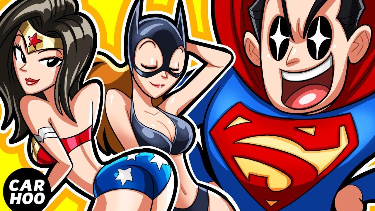 WHAT IF SUPERMAN GOT SICK?! ft Batman / Wonder Woman / Green Lantern【 An...