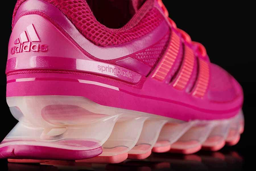 2tenis adidas spring blade rosa