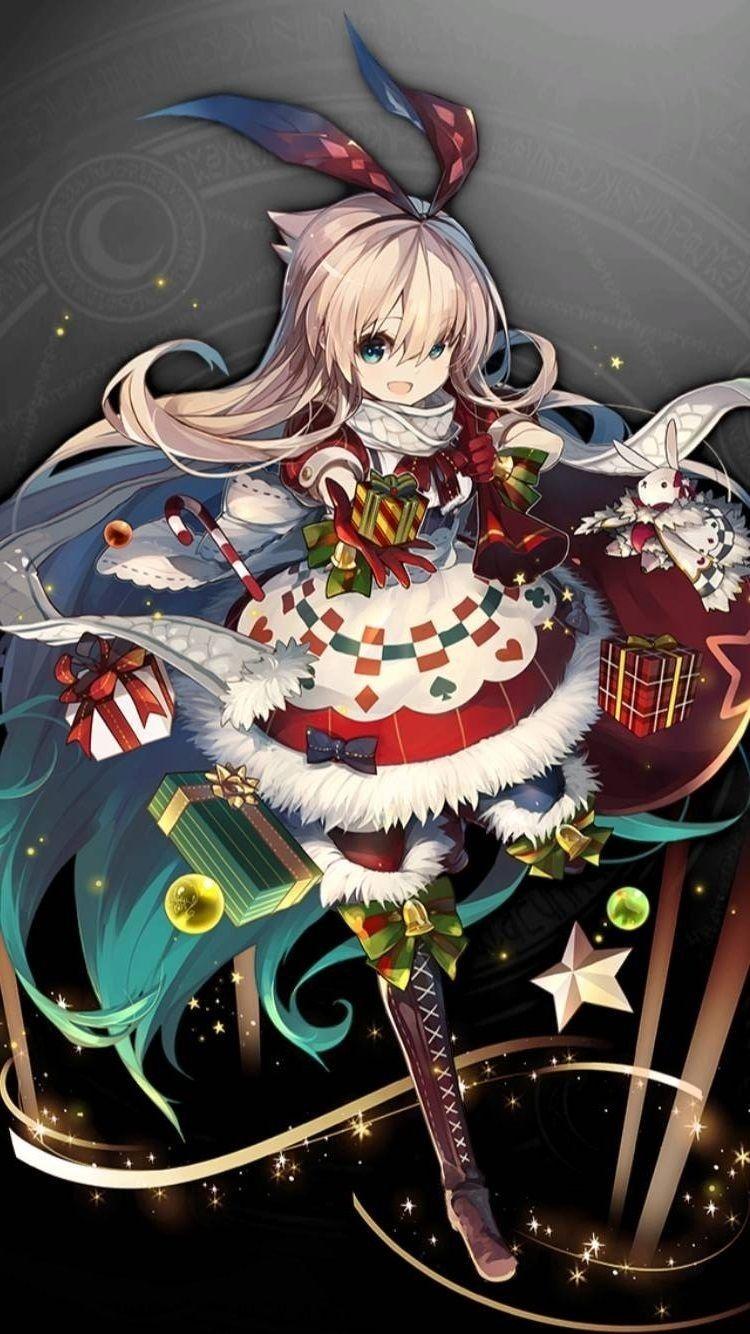 7アリス 聖夜 クリスマス イラスト 女の子 アニメの描き方