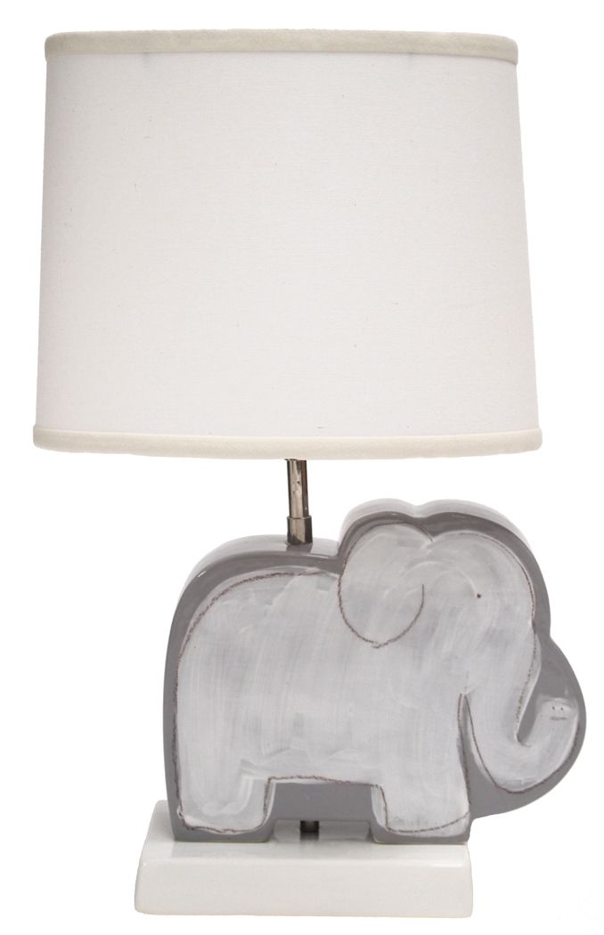 Gray Elephant Character Figure Lamp-From Social in Memphis. Need for ...
