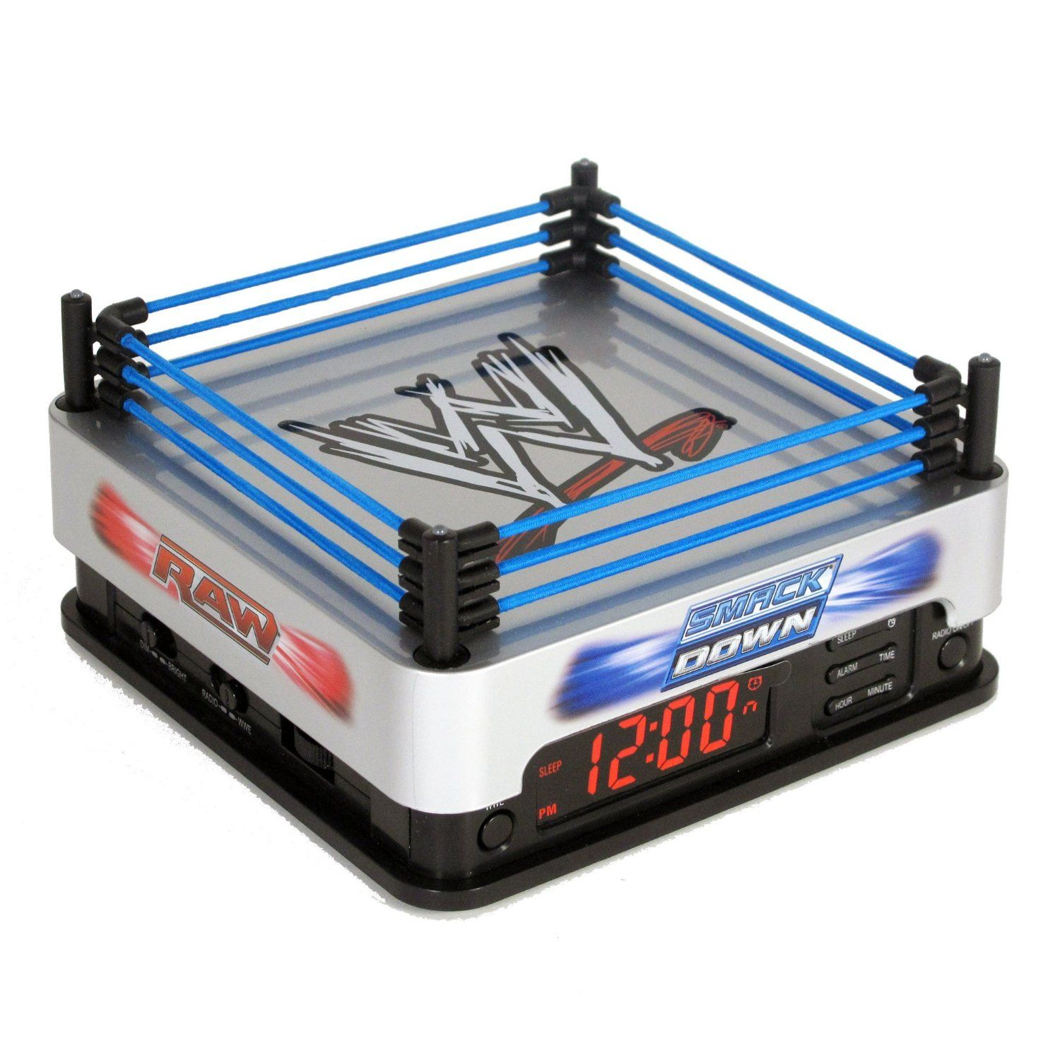 wwe ring alarm clock this has to be by far the coolest themed