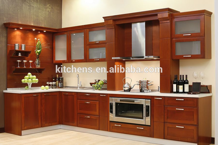 Cocinas Con Muebles De Madera Modernas Buscar Con Google Aluminum Kitchen Cabinets Kitchen Cabinet Design Photos Modern Kitchen Cabinet Design