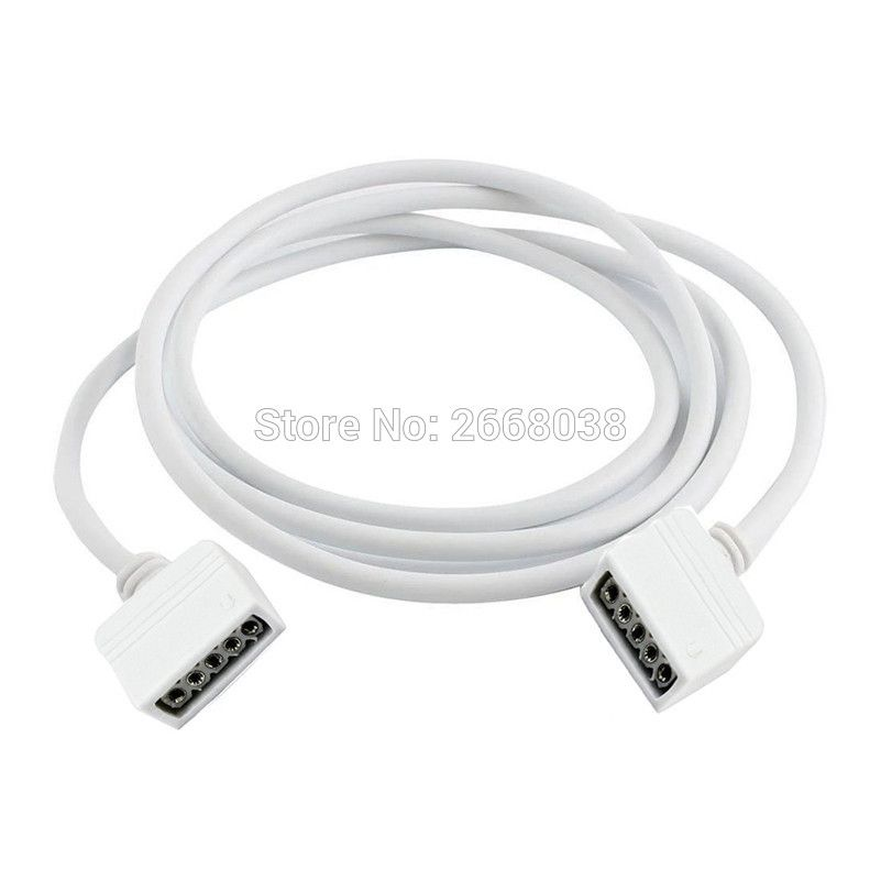 5m-RGBW-Extension-Cable-Connector-10m-3m-2m-1m-LED-Lighting-Wire ...