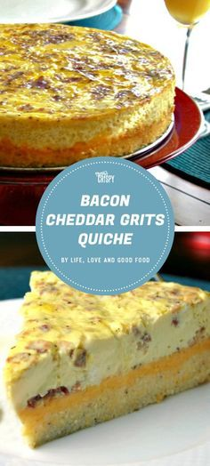 Easy fathers day brunch recipes for dads who love bacon brunch this quiche recipe from life love and good food uses a crust made with grits which is then filled with eggs cheddar cheese and all of the bacon forumfinder Image collections