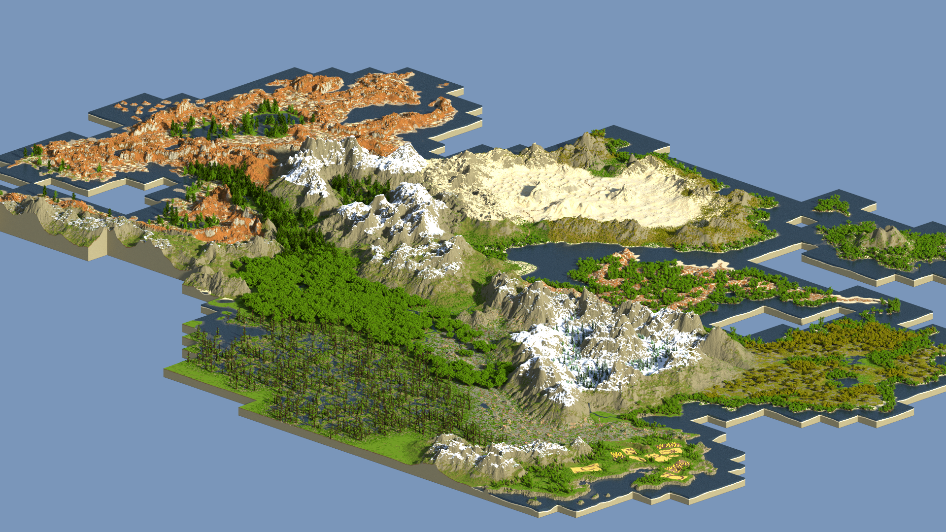 WorldPainter Minecraft Xbox How Do You Get Those Really Nice D - Minecraft xbox 360 los angeles map download