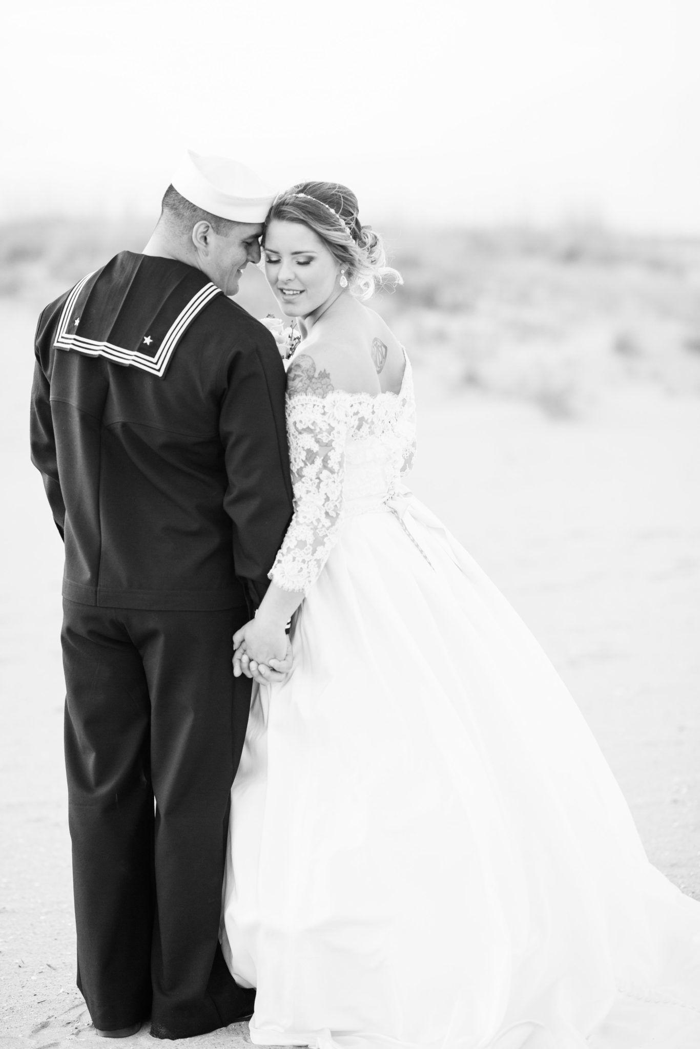 Virginia Beach Navy Wedding Victoria + Ricardo Navy