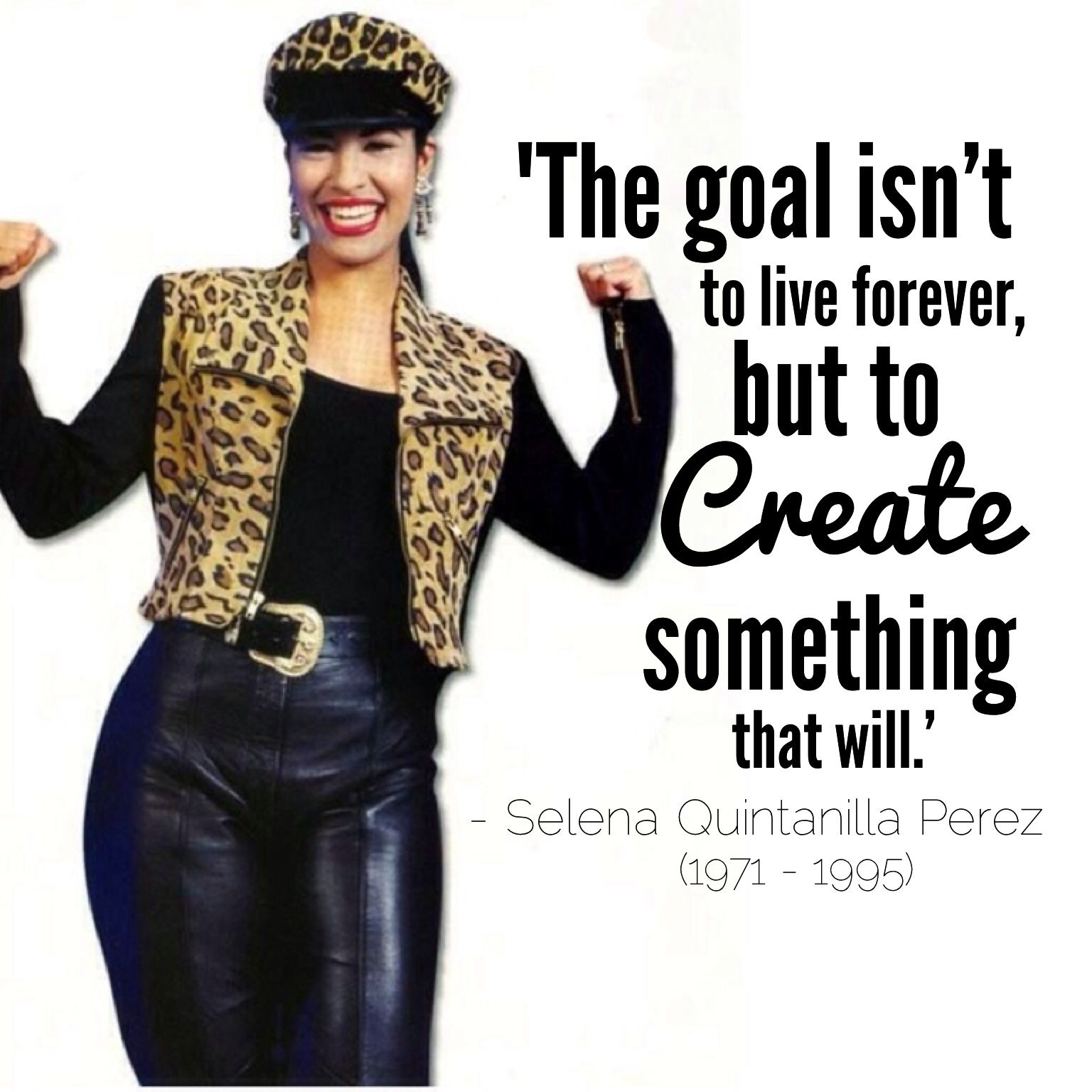 Selena Quintanilla Quotes Alluring Selena Quintanilla Was Shotthe Leader Of Her Own Fan Club On . Inspiration