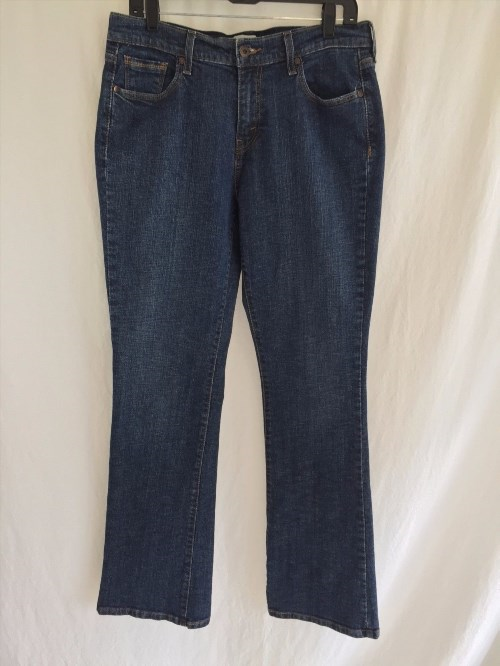 24.24$  Buy now - http://vicpu.justgood.pw/vig/item.php?t=mwjfgm259300 - LEVIS Womens 515 Boot Leg Cut Denim Jeans Size 12L 33X33 Dark Wash (2095)