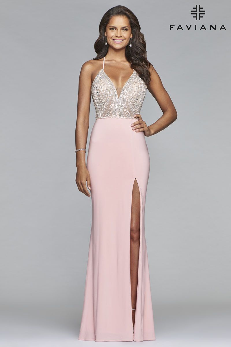 6302d0dc14a2 Faviana S10060 - Formal Approach Prom Dress