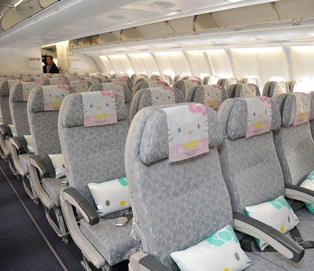 Plane Cute Hello Kitty Airways