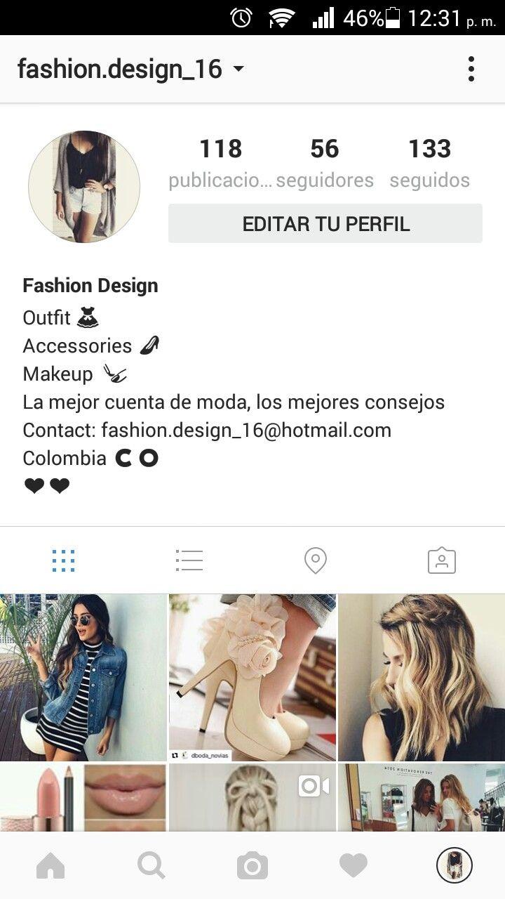 Sigan mi cuesta de Instagram @fashion.design_16