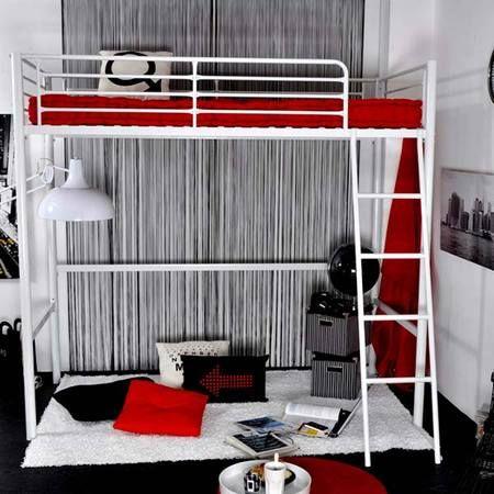 astuce gain de place avec un lit mezzanine maison facile chambre d 39 ado. Black Bedroom Furniture Sets. Home Design Ideas