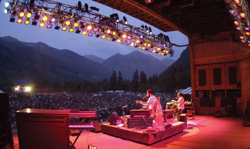 The Summer Festival Season Includes Colorado Events Like The Aspen Food Wine Festival And The Telluride Bluegrass Fe Colorado Summer Summer Festival Colorado