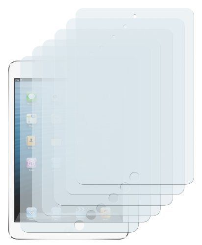 6 x mumbi Displayschutzfolie iPad Mini / iPad mini 2 mit Retina Display (Modell 2013) Schutzfolie von mumbi