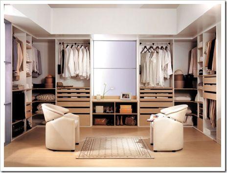 los vestidores modernos son uno de los principales objetivos de toda mujer hoy les compartimos algunas fotos de diseo de interiores de vestidores para que - Vestidores Diseo