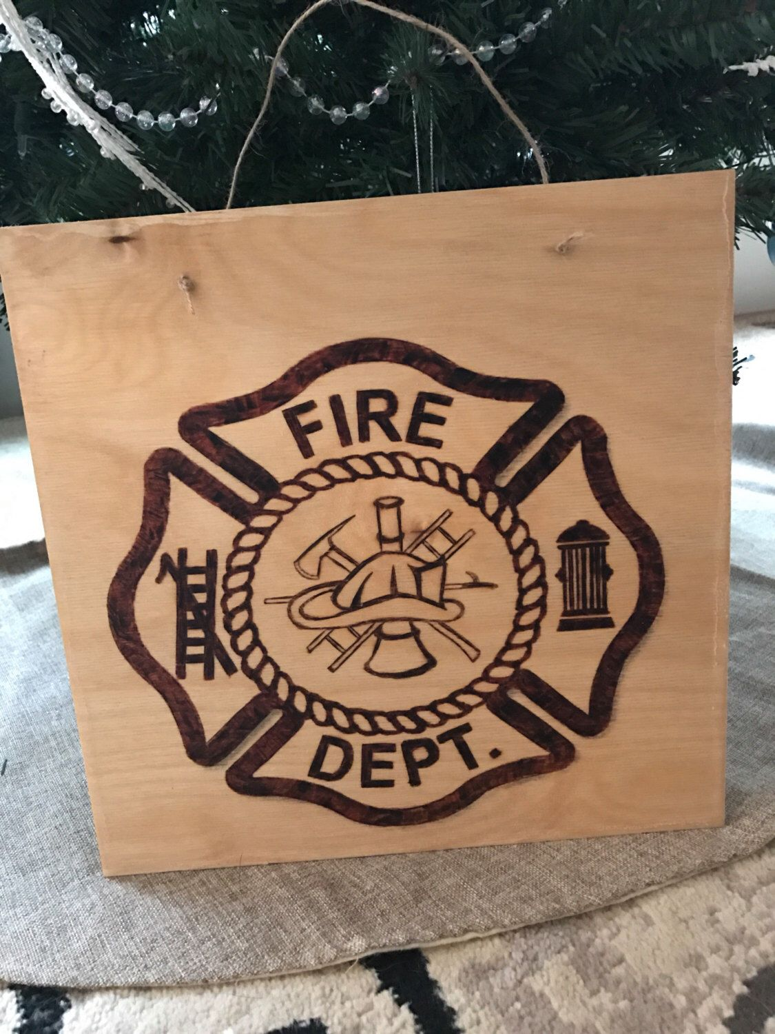 Fire Department Wall Decor Maltese Cross Home Decor Wood Burning Maltese Cross Firefighter Wood Sign Https W Wood Jewelry Diy Maltese Cross Wood Burning
