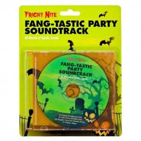 Halloween Fang-tastic Party Soundtrack Cd - Halloween DVDs & Books ...