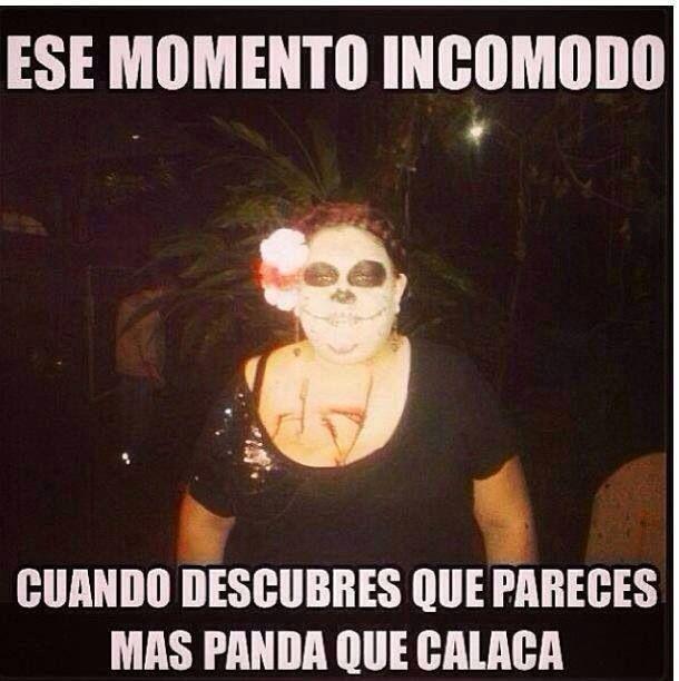Momento Incomodo Frase De Halloween Humor En Espanol Imagenes Graciosas