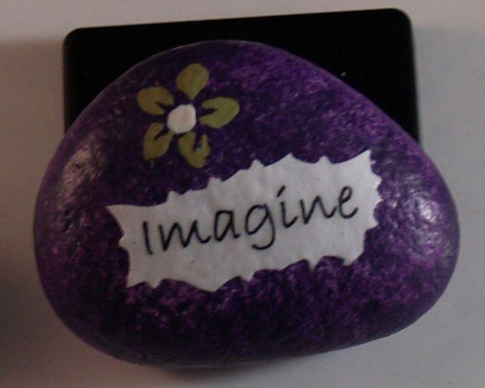 Imagine - Painted Rocks