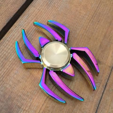 Spider Multicolor Alloy Spinner Fid Spinners