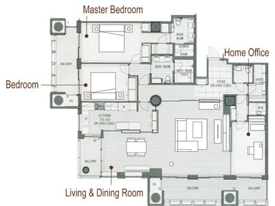 Anese Floor Plans Apartments Via Furniture Rental Tokyo