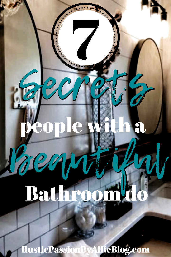 If you are looking to remodel and decorate your dream bathroom on a budget look no further. These ti