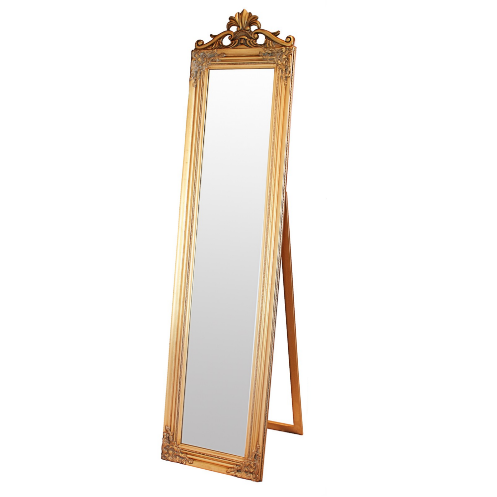 with pin floors floor delivery length gold style fabulous full mirrors free from baroque mirror elizabeth