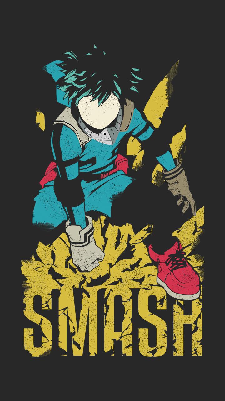 Deku Smash Essential T Shirt By Samuelzadames Hero Poster Hero Wallpaper Anime Wallpaper
