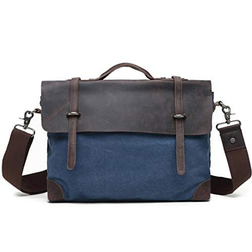 Color : AS Photo RABILTY Leather Mens Bag Shoulder Bag Casual Mens Messenger Bag Vertical Section First Layer Cowhide