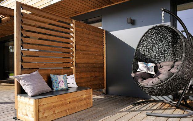 panneau lames orientables sun by burger cloture. Black Bedroom Furniture Sets. Home Design Ideas