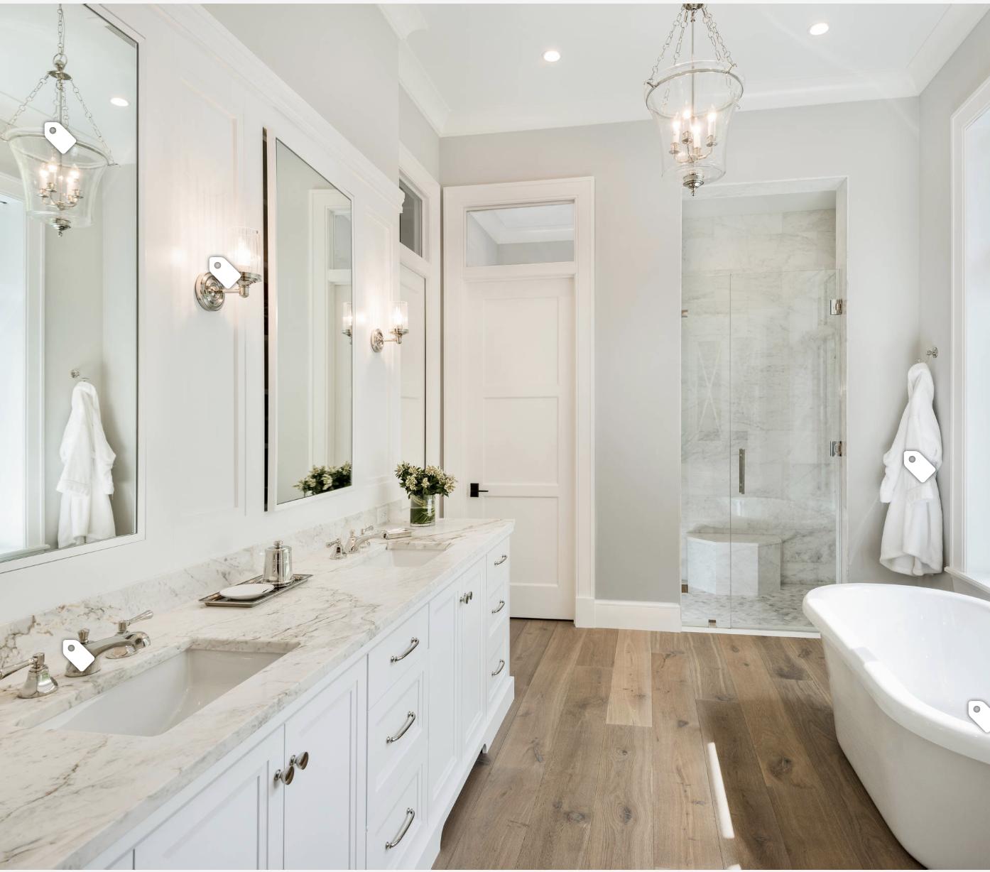 White Bathroom Wood Floor White Master Bathroom Small White Bathrooms Wood Floor Bathroom