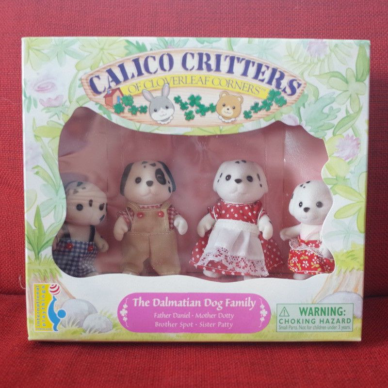 New Sylvanian Families Caramel Inu Family From Japan F//S