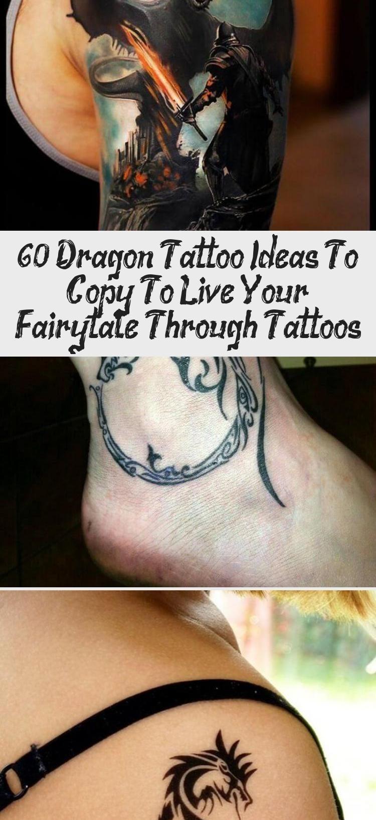 60 Dragon Tattoo Ideas To Copy To Live Your Fairytale Through Tattoos  Tattoos