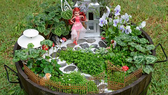 How To Make A Mini Fairy Garden