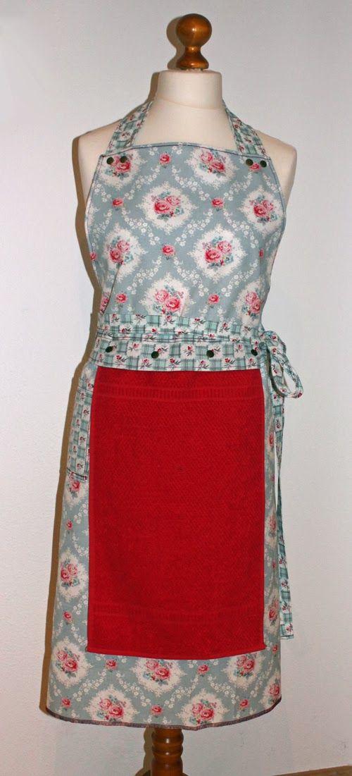 apron - Schürze mit Handtuch | Nähen | Pinterest | Nähen, Schürze ...