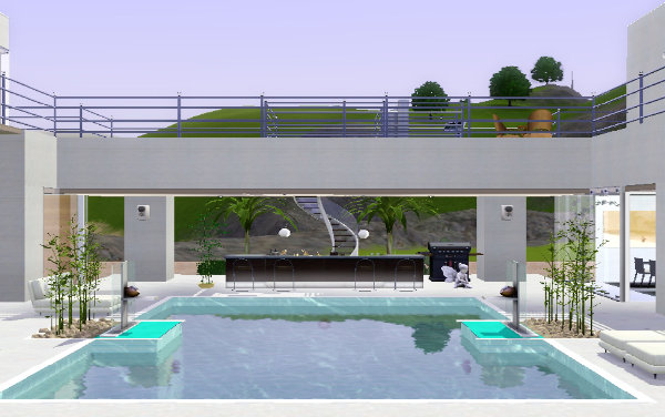 MIX MODERN STYLE HOUSE THE SIMS 3 | sims-spiration | Pinterest ...