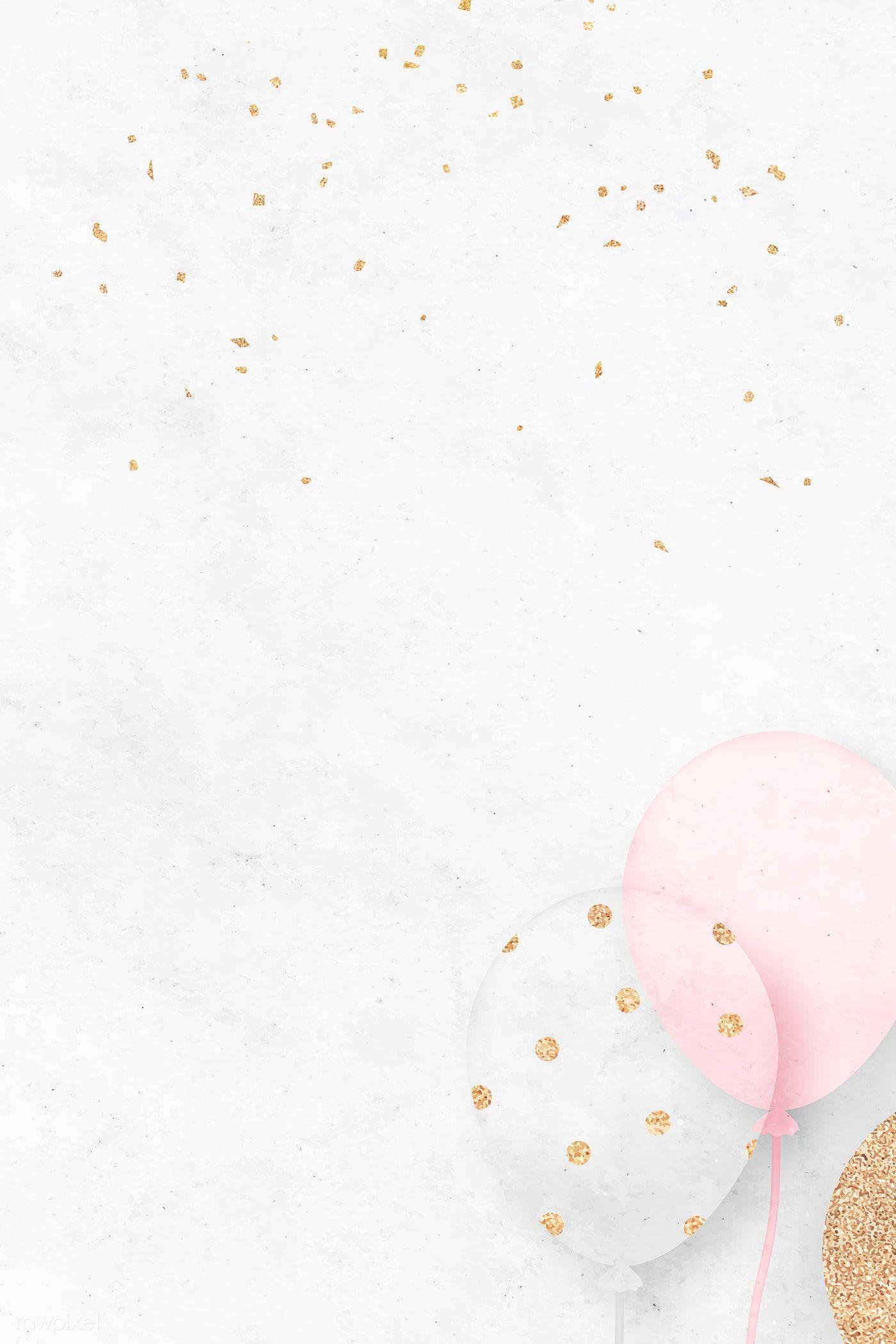 White festive background template vector | premium image by rawpixel.com / NingZk V.